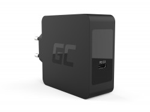 Incarcator USB-C 60W PD cu cablu USB-C pentru Apple MacBook Pro 13, Asus ZenBook, HP Spectre, Lenovo ThinkPad an others