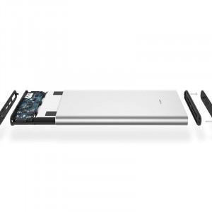 Power Bank Xiaomi 10000 mAh MI3 PLM12ZM srebrny