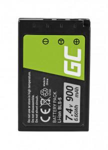 Baterie camera foto pentru BLS-5 / BLS-50 Olympus OM-D E-M10, PEN E-PL2, E-PL5, E-PL6, E-PL7, E-PM2, Stylus 1 7.4V 900mAh