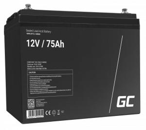 Green Cell AGM Battery 12V 75Ah