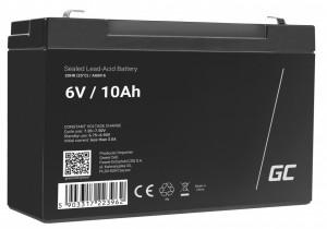 Green Cell AGM Battery 6V 10Ah