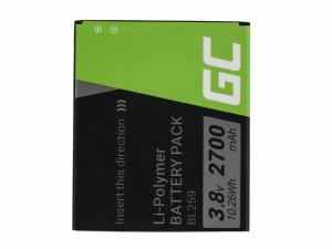 Green Cell Smartphone Battery BL259 Lenovo K3 K5 K5 Plus C2 Lemon 3