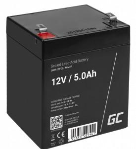 Green Cell AGM Battery 12V 5Ah