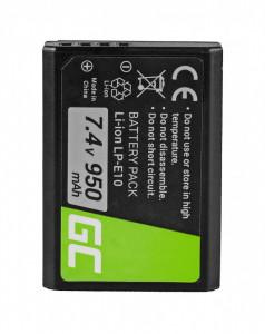 Baterie camera foto pentru LP-E10 Canon EOS Rebel T3, T5, T6, Kiss X50, Kiss X70, EOS 1100D, EOS 1200D, EOS 1300D 7.4V 950mAh