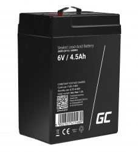 Green Cell AGM Battery 6V 4.5Ah