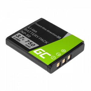 Baterie camera foto NP-50 pentru FujiFilm F100, F200, F300, F500, F600, F700, F80, X10, X20 3.7V 750mAh