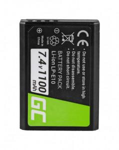 Baterie camera foto pentru LP-E10 Canon EOS Rebel T3, T5, T6, Kiss X50, Kiss X70, EOS 1100D, 1200D, 1300D 7.4V 1100mAh