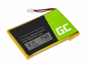 Green Cell 1-756-769-11 Battery for Sony Portable Reader System PRS-500 and PRS-505