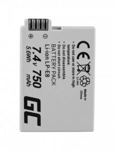 Baterie camera foto pentru LP-E8 ® Canon EOS Rebel T2i, T3i, T4i, T5i, EOS 600D, 550D, 650D, 700D, Kiss X5, X4, X6 7.4V 750mAh