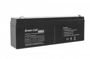 Green Cell AGM Battery 12V 2.3Ah
