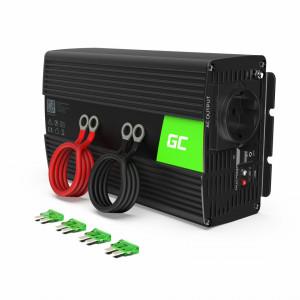 Invertor auto 12V la 220V, 1000W/2000W