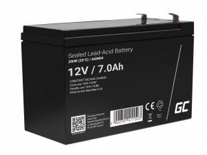 Green Cell AGM Battery 12V 7Ah