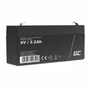 Green Cell AGM Battery 6V 3.3Ah