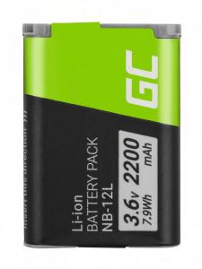 Baterie camera foto NB-12L NB12L pentru Canon Powershot G1 X Mark II, N100, LEGRIA mini X 3.6V 2200mAh