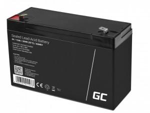 Green Cell AGM Battery 6V 12Ah