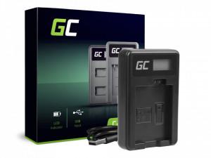Incarcator CBC-E5, LC-E5 pentru Canon LP-E5, EOS 450D, 500D, 1000D, Kiss F, X2, X3, Rebel T1i, XS, XSi