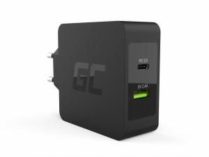 Incarcator USB-C 45W PD cu cablu USB-C si extra USB port pentru Asus ZenBook, HP Spectre, HP Envy x2 si others