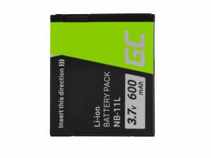 Baterie camera foto digitala pentru Canon PowerShot A2300 IS A2400 IS A3400 IS A3500 IS SX400 SX410 SX420 IS 9 3.7V 600mAh