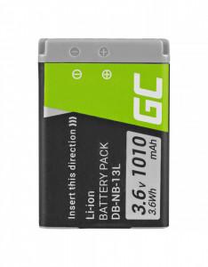Baterie camera foto NB-13L pentru Canon PowerShot G5 X, G7 X, G7 X Mark II, G9 X, SX620 HS, SX720 HS, SX730 HS 3.6V 1010mAh