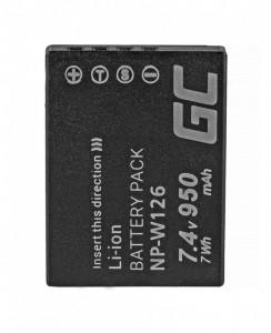 Baterie camera foto pentru NP-W126 Fujifilm FinePix HS30EXR, HS33EXR, HS50EXR, X-A1, X-A3, X-E1, X-E2, X-M1, X-T1, X-T2 7.4V 950mAh