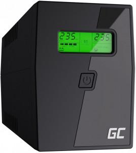 Green Cell ® UPS Micropower 600VA mit LCD Bildschirm