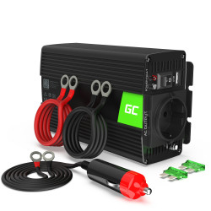 Invertor auto 12V la 230V, 300W / 600W