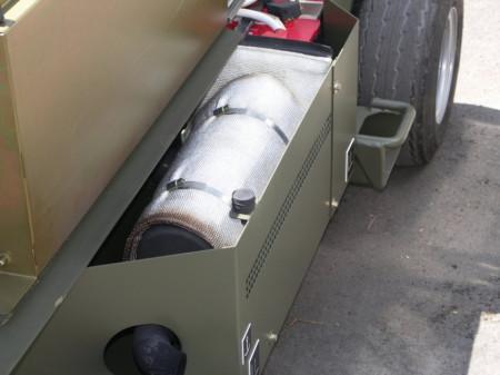Poze Scuturi termice ţevi eșapament camioane