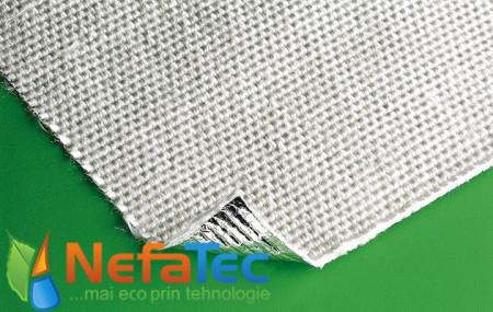 Poze Țesatură fibră sticlă aluminizată 0,5mm T = 500°C
