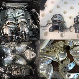 Izolaţii termice ţevi eșapament autoturisme/tractoare/ATV/nave/camioane