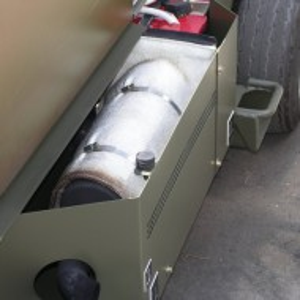 Scuturi termice ţevi eșapament camioane