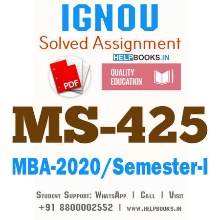 MS425-IGNOU MBA Solved Assignment 2020/Semester-I (Electronic Banking and IT in Banks)