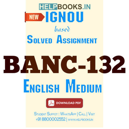 Download BANC132 Solved Assignment 2020-2021 (English Medium)-Fundamentals of Biological Anthropology