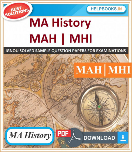 IGNOU MA History Solved Assignments-MHI | e-Assignment Copy | 2020-21