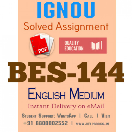 Download BES144-IGNOU B.ed IGNOU Solved Assignment 2020-2021 ( Pedagogy of English)