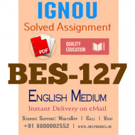 Download BES127-IGNOU B.ed Solved Assignment 2020-2021 (Assessment for Learning) (English Medium)