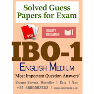 IBO1 IGNOU Solved Sample Papers/Most Important Questions Answers for Exam-English Medium
