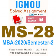 MS28-IGNOU MBA Solved Assignment 2020/Semester-II (Labour Laws)
