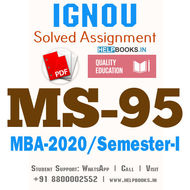 MS95-IGNOU MBA Solved Assignment 2020/Semester-I (Research Methodology for Management Decisions)