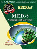 MED8, Globalisation and Environment (English Medium), IGNOU Master of Arts (Political Science) (MPS) Neeraj Publications | Guide for MED-8 for December 2021 Exams with Sample Papers