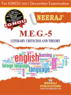 MEG5, Literary Criticism and Theory (English Medium), IGNOU Master of Arts (English)(MEG) Neeraj Publications | Guide for MEG-5 for December 2021 Exams with Sample Papers