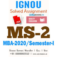 MS2-IGNOU MBA Solved Assignment 2020/Semester-I (Management of Human Resources)