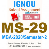 MS29-IGNOU MBA Solved Assignment 2020/Semester-II (International Human Resource Management)
