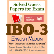 IBO3 IGNOU Solved Sample Papers/Most Important Questions Answers for Exam-English Medium