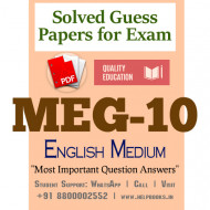 MEG10 IGNOU Solved Sample Papers/Most Important Questions Answers for Exam