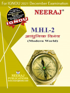 MHI2, ModernWorld (Hindi Medium), IGNOU Master of Arts (History)(MAH) Neeraj Publications | Guide for MHI-2 for December 2021 Exams with Sample Papers