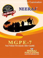 MGPE7, Non-Violent Movements after Gandhi (English Medium), IGNOU Master of Arts (Political Science) (MPS) Neeraj Publications | Guide for MGPE-7 for December 2021 Exams with Sample Papers