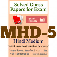 MHD5 IGNOU Solved Sample Papers/Most Important Questions Answers for Exam