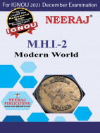 MHI2, ModernWorld (English Medium), IGNOU Master of Arts (History)(MAH) Neeraj Publications | Guide for MHI-2 for December 2021 Exams with Sample Papers