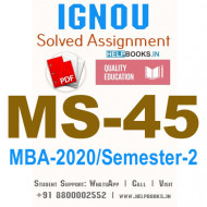 MS45-IGNOU MBA Solved Assignment 2020/Semester-II (International Financial Management)