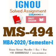 MS494-IGNOU MBA Solved Assignment 2020/Semester-I (Risk Management in Banks)
